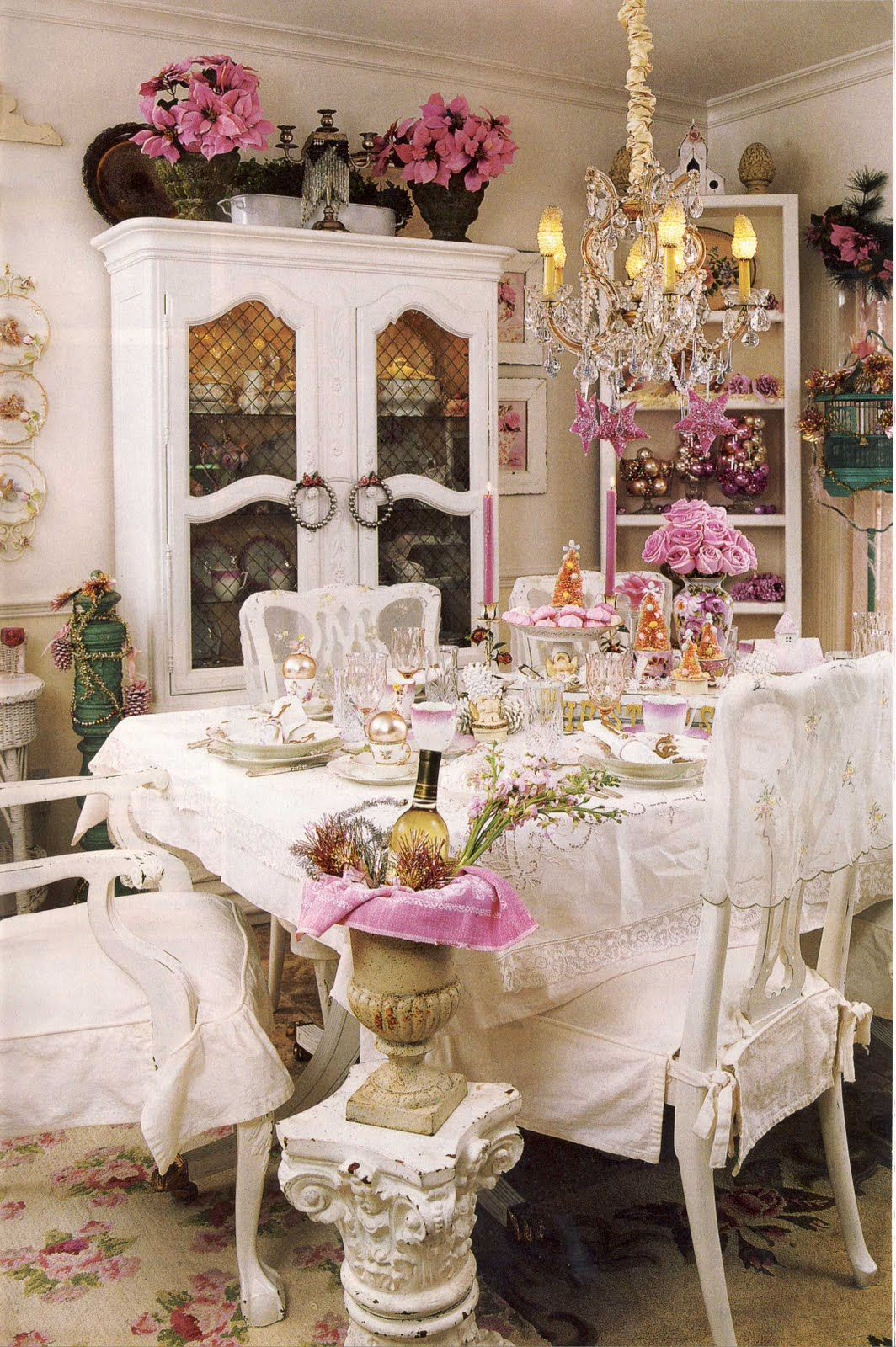 Ideas For Country Dining Room Decorating