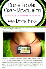 My Turtle Pendant Featured on our Etsy Team Blog!