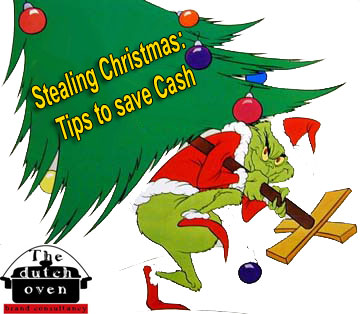 stealing christmas tips to save cash - Stealing Christmas
