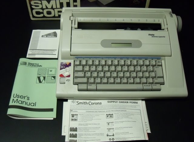 Collectibles 4 U  Smith Corona Na3hh Electric Typewriter