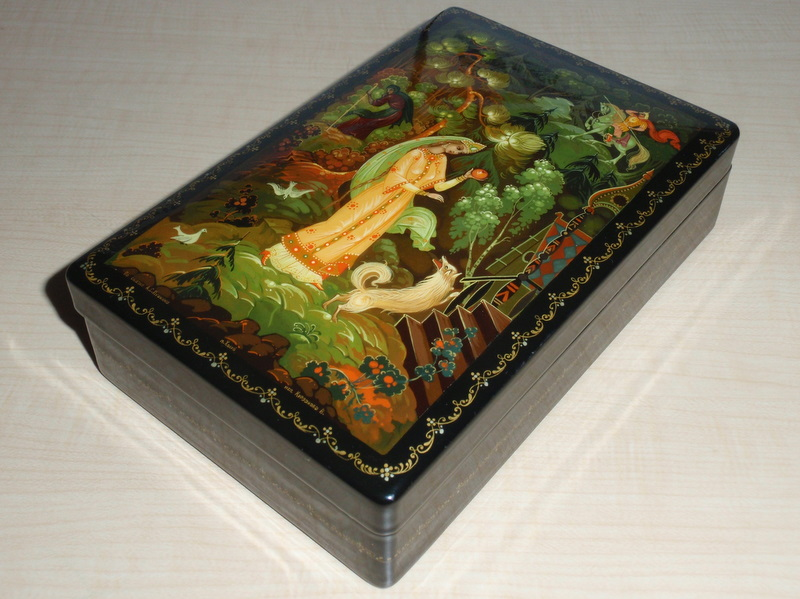 Russian Lacquer Boxes From 115
