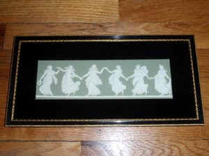 Dancing Hours Wedgwood Wall Plaque