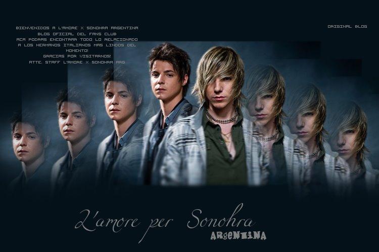 L'amore Per Sonohra Fans Club
