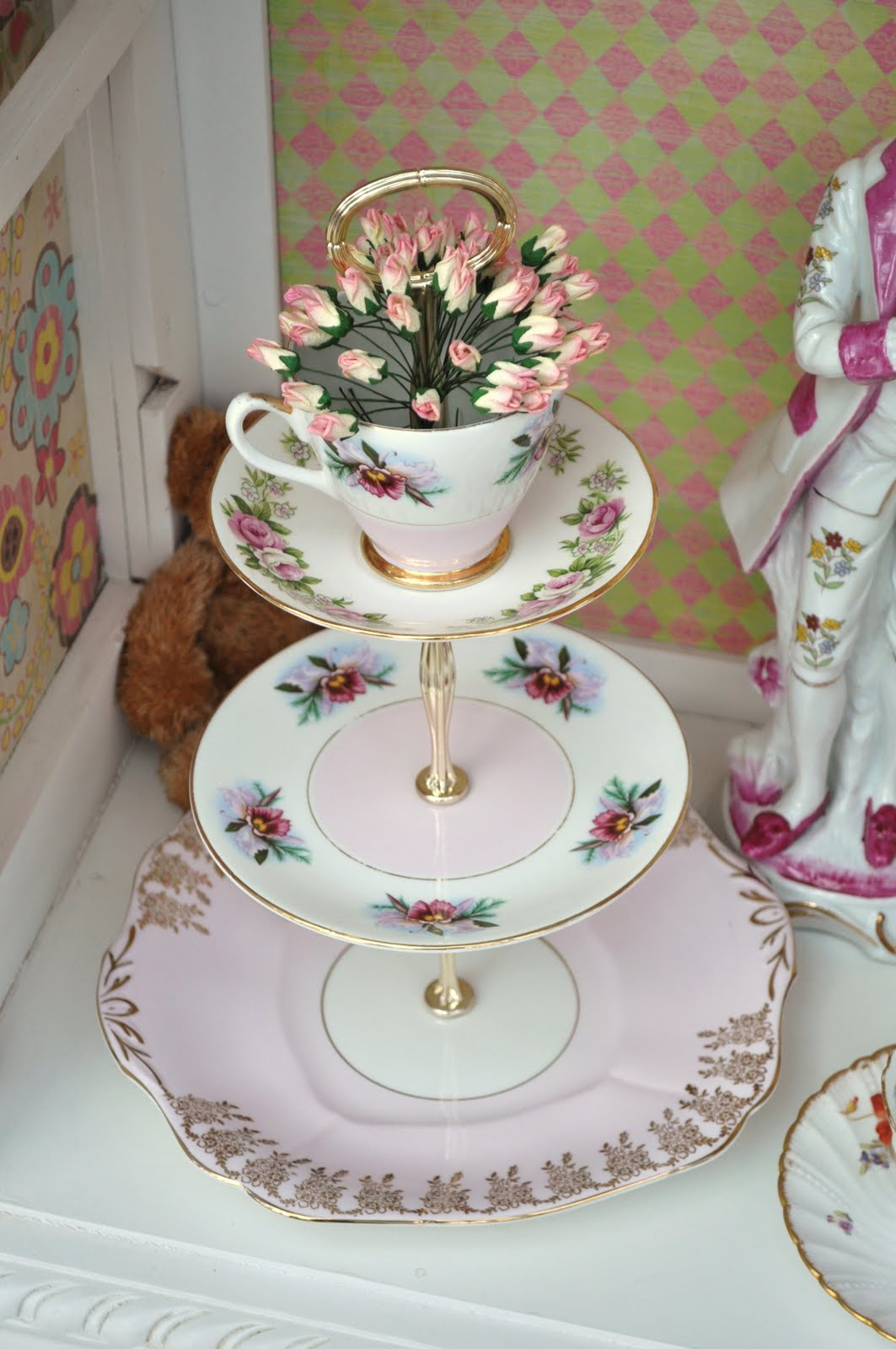 Image Result For Selection Of Vintage Cake Stands