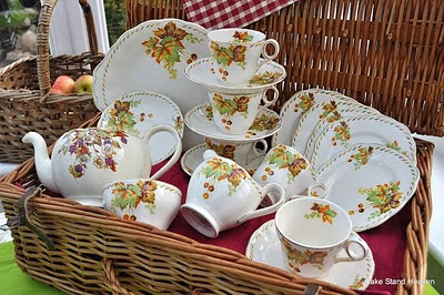 Autumn Tea Set