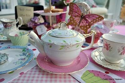 Miniature Vintage Teapot