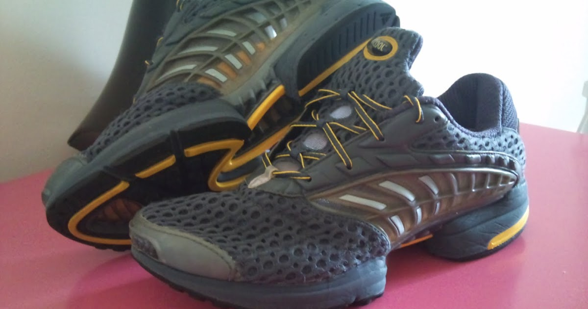 Old trainers: Adidas Climacool - Paul Devine lost to Mikey Liu