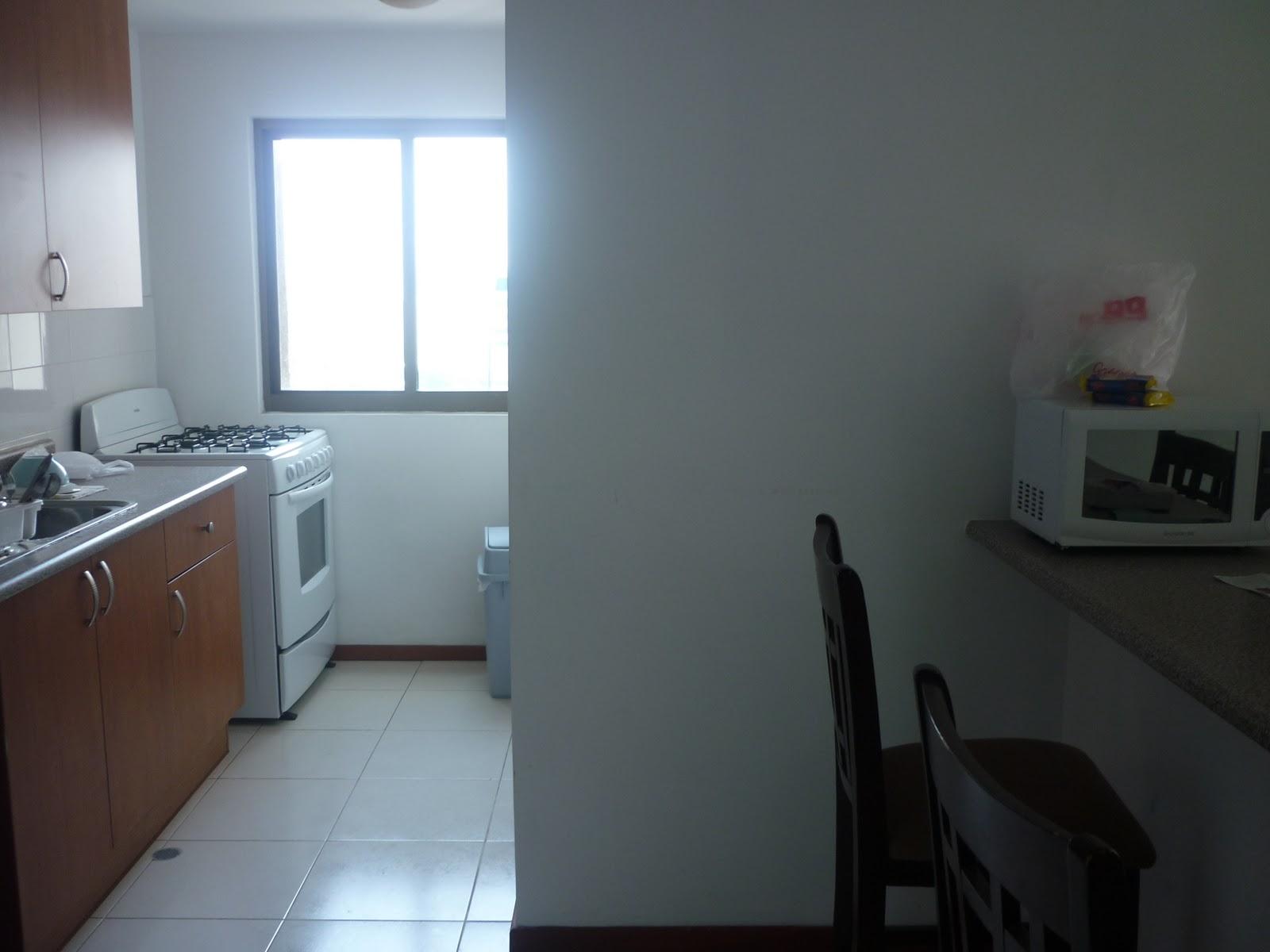 Apartamento panama vistas de cocina zona de labores for Vistas de cocinas