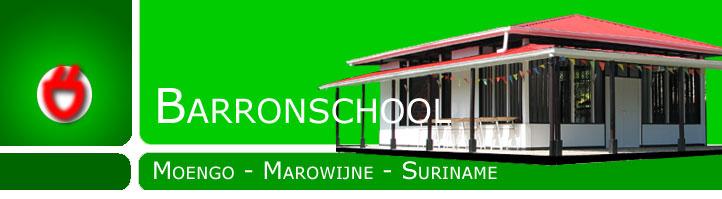Barronschool Moengo Marowijne Suriname