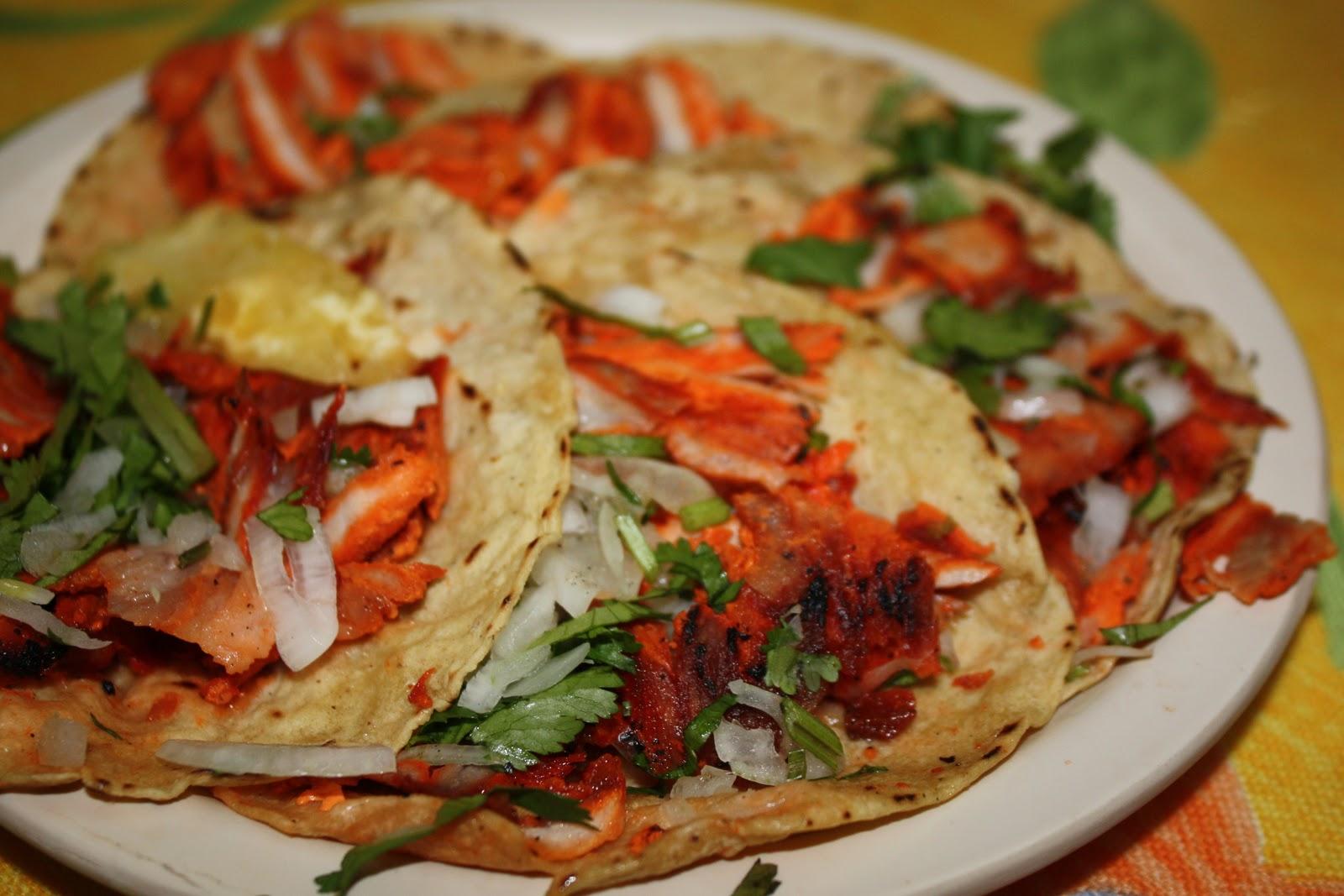 tacos al pastor recipes dishmaps. Black Bedroom Furniture Sets. Home Design Ideas