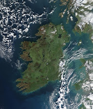 Ireland from out of space