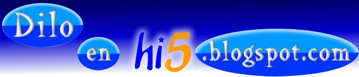 Dilo en hi5