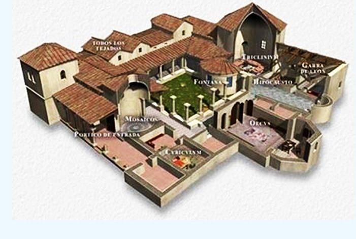 Tres culturas la villa romana de carranque for Villas romanas