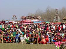 Bishnu Play Vitol Role in Meghauli Tourism Festival