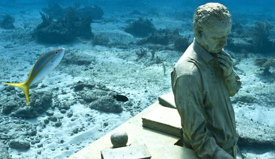 Patung Taman Bawah Laut