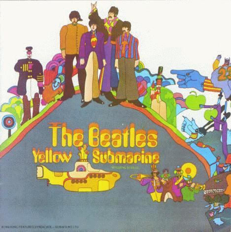 entire Star Wars saga, Yellow Submarine is my favorite all-time movie.)