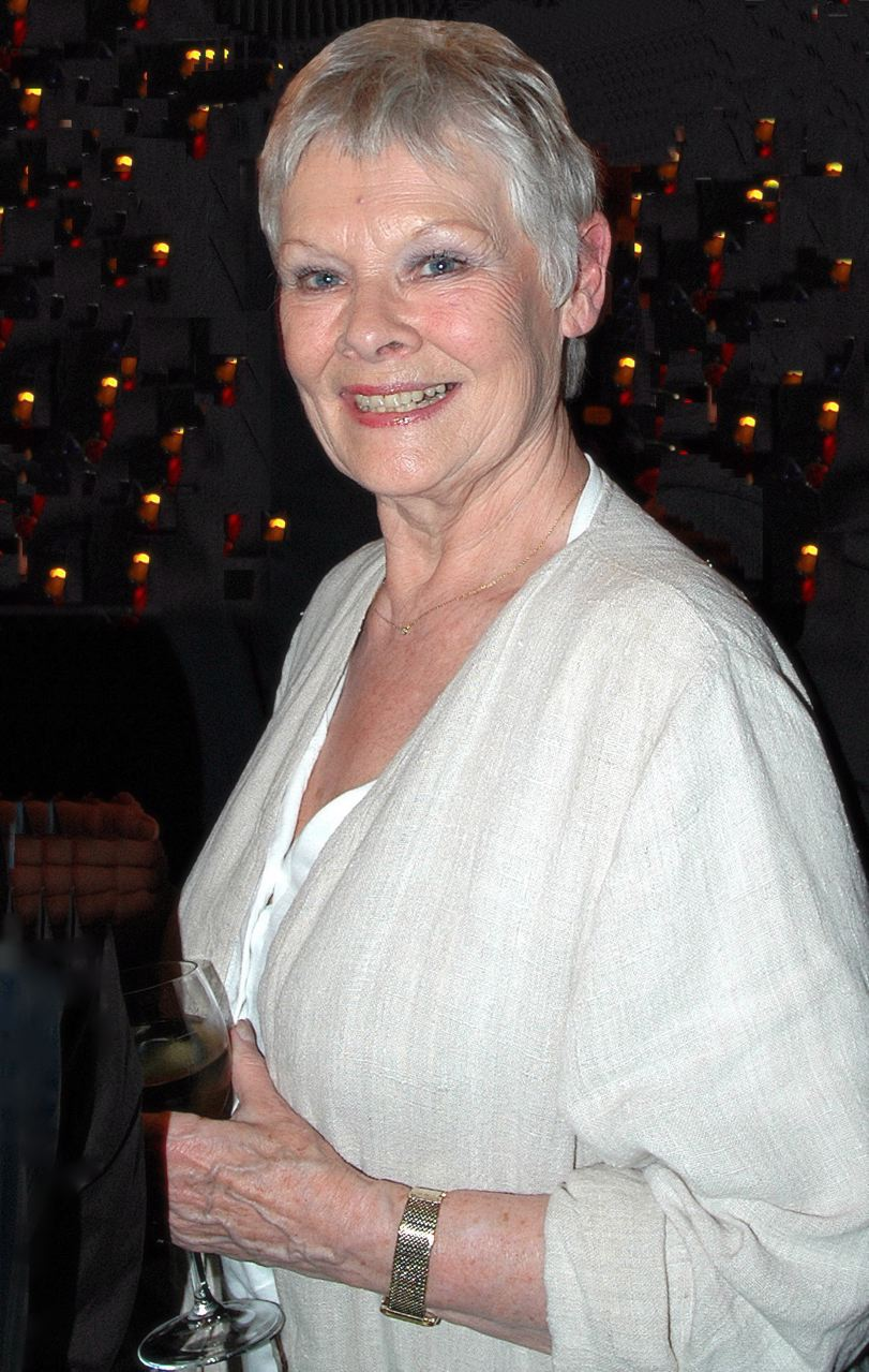 Judi Dench Hairstyle 2012 Dame judy dench.