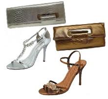 Официални сандали и чантички