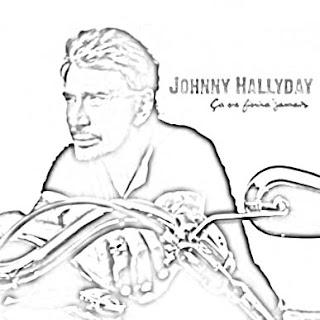 La bande des potes: Coloriages de Johnny Halliday