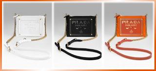 Designer's House: Prada Tessuto Oro Chain Bag