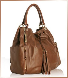 Designer's House: Cole Haan Leather 'Kendal' Drawstring Tote :  drawstring cole on kendal