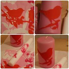 DIY dekorer dine stearinlys