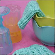 DIY strikkede karklude til børn