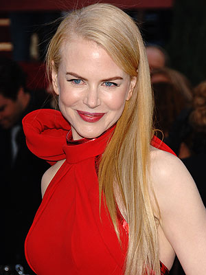 Celebrities Hairstyle Nicole Kidman