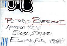 Carta para Pedro Bericat