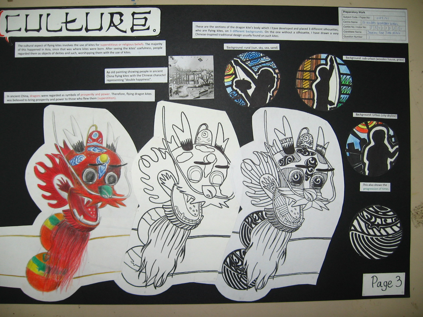 A  IGCSE Art Coursework  Trinkets  Treasures and Memories blogger