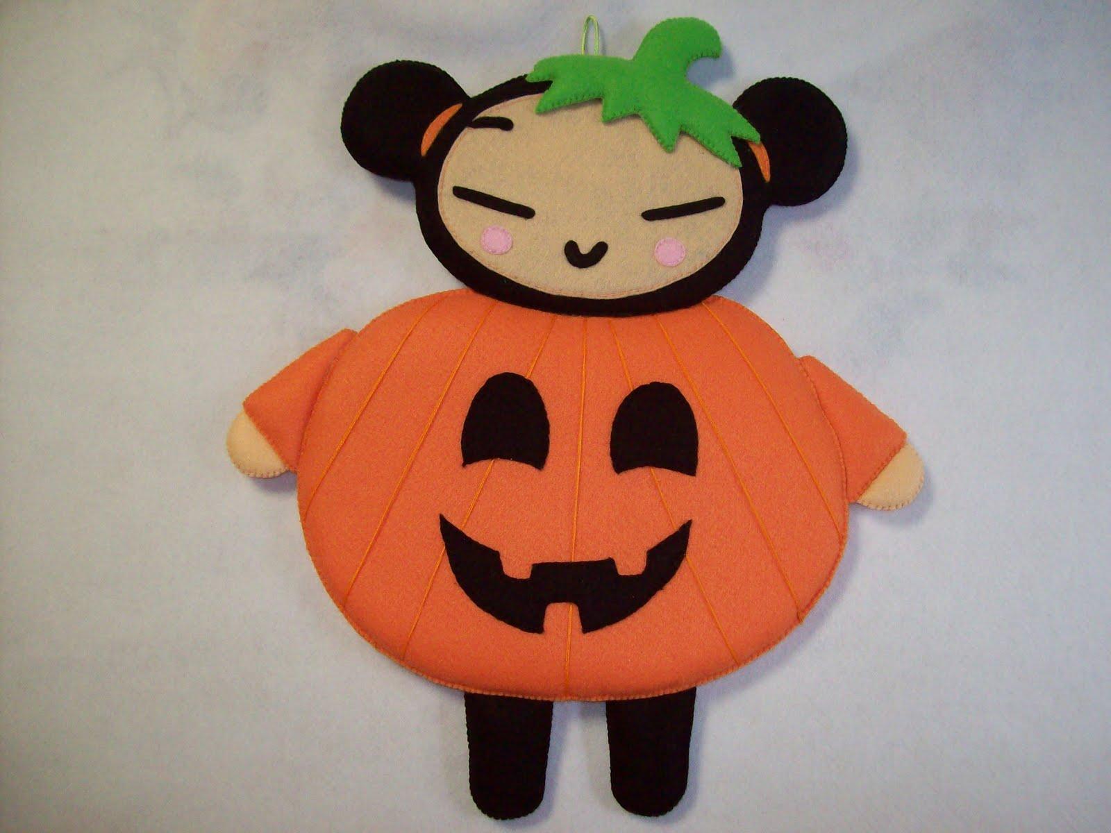 Shexeldetallitos blog de manualidades pucca calabaza de - Calabazas de halloween manualidades ...