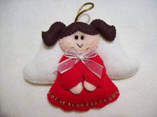 Shexeldetallitos blog de manualidades adornos de - Adornos arbol navidad fieltro ...