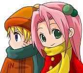Yo y Inezu!^^