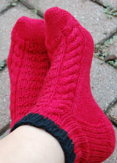 Pat's Knitting and Quilting: Regia Silk Socks Done