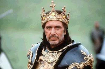 Al Pacino as King Richard III