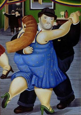 Famous Fernando Botero Painting Oil on Canvas Reproductions