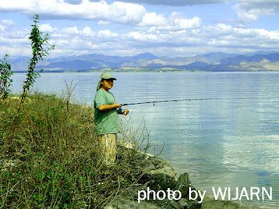 ตกปลา,เขื่อนศรีนครินทร์ , กาญจนบุรี