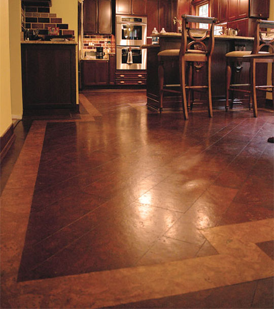 Kitchen Cork Flooring Ideas: Living In Your Kitchen -- Design Trends-- Aston Smith