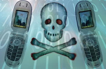 virus handphone