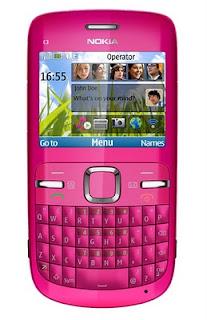 FOto Nokia C3, harga dan spesifikasi