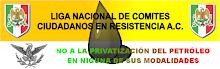 NO A LA PRIVATIZACION DE PEMEX