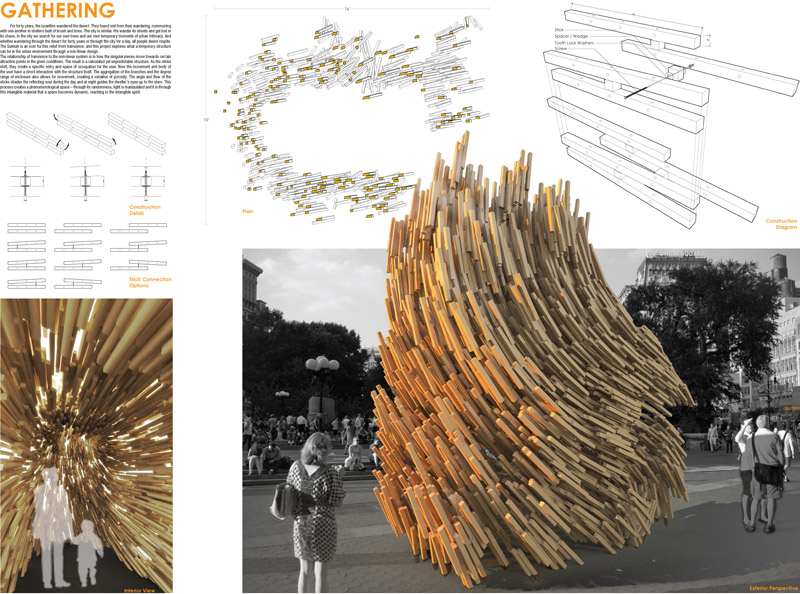 Sukkah city for Architecture parametrique