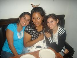 Denise, Faby e Indirita!