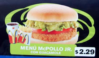 eat burger with avocado paste in Chile