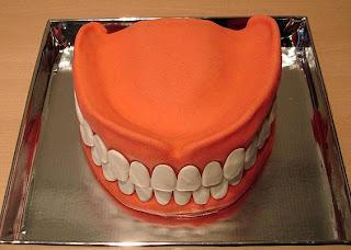 Cake for dentist I guess