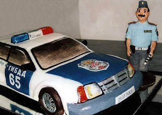 Cake for police