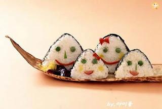 smiley sushi