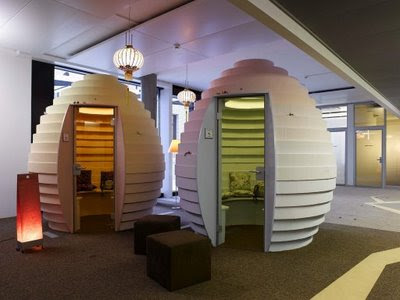 igloo style working space
