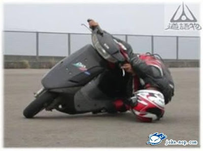 advanced biker. dont try this at home