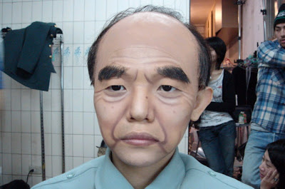 asian old man just completed